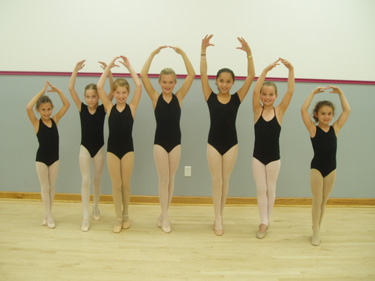 dancers may wear pink or black leos with or without skirts pink tights and black ballet shoes cover ups are welcomed in the beginning of class only
